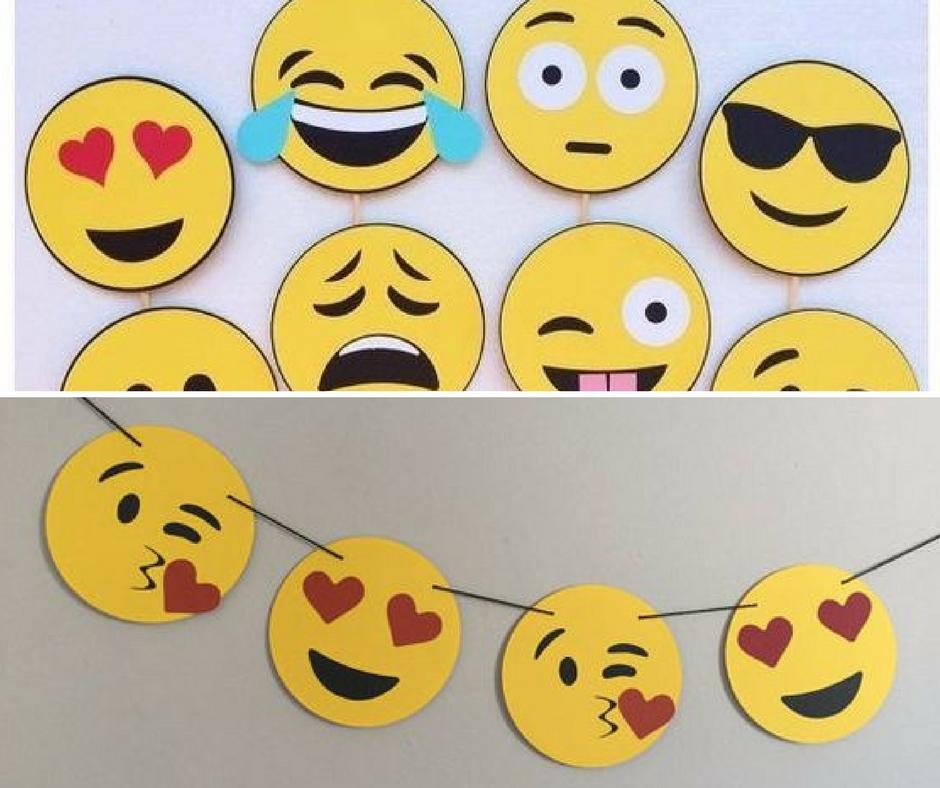 Como fazer uma festa Emoji u2013 Cupcake&Cia