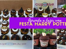 Capa Blog Festa HP Cupcake